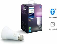 Philips Hue White & Color Ambiance A19 LED Smart Bulb Bluetooth & Zigbee