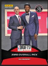 2017 Panini Instant OG Anunoby RC #17 NBA Draft Night 23rd Overall Pick Toronto