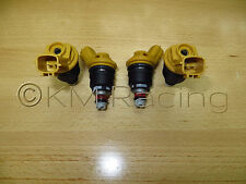4x New NISMO Nissan SR20DET Yellow Side Feed 555cc Fuel Injectors 16600-RR543