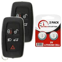 2 Replacement Keyless Entry Remote Car Key Fob for 2010-2015 Land Range Rover