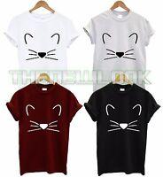 KITTY T SHIRT KITTEN  CAT LOVE GIRL GIFT LOVER TEE TOP TSHIRT FASHION SWAGUNISEX