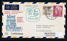 96291) LH FF Düsseldorf- Lissabon 6.4.68, SoU ab Berlin