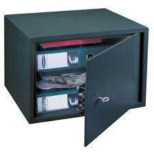 Home Office Security Key Lock Safe Black Saturn LE-30 Rottner