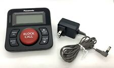 Panasonic Call Blocker for Landline Phones, One-Touch Call Block Read Descriptio