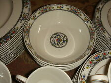 6 Royal Doulton Fine China CEREAL BOWLS - Tavistock Pattern # TC 1112