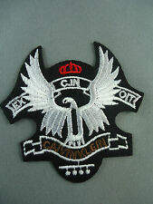 Falcon calvin klein   emroidered  iron on /sew on badge
