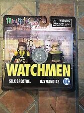 Watchmen Minimates SILK SPECTRE & OZYMANDIAS TRU Exclusive figure Movie DC