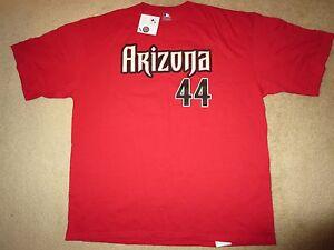 Paul Goldschmidt #44 Arizona Diamondbacks MLB Majestic Jersey Shirt 2XL 2X NEW