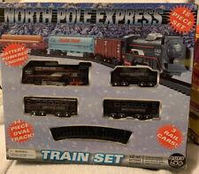 New - North Pole Express - 18 Piece Plastic Set