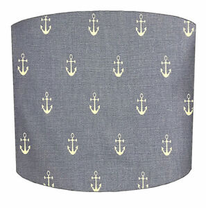 Nautical Lampshades, Ideal To Match Nautical Cushion Covers & Nautical Curtains.