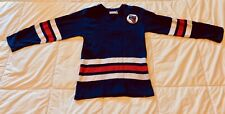 Vintage 1960s New York Rangers  NHL Hockey Jersey Kids - Sc Knitting CanadaMade