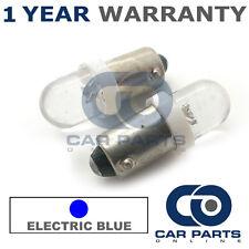 2x Xenon Blu Elettrico bax9s h6w 434 Luce Laterale Aggiornamento a cupola lampadine a LED