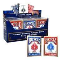 12 x Bicycle Standard 808 Rider Back Poker Karten Spielkarten Romme