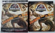 JURASSIC PARK 25TH ANNIVERSARY COLLECTION 4K ULTRA HD BLU RAY 8 DISCS + SLIPBOX