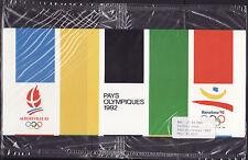 émission commune  pochette FRANCE   Espagne   Jeux Olympiques 1992  BL