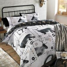 Linge de lit et ensembles noirs en polyester avec des motifs Carreaux