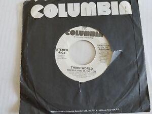 """Troisième World - You'Re Jouer US Plus Qu ' Assez Fermer 1982 Reggae Pop 7 """""""
