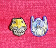 Trans Formers,Bumble Bee,Optimus,Cupcake Party Rings,12ct.Plastic,Bakery Crafts