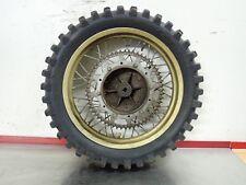 1984 Husqvarna WR 500 AE Automatic WR500 rear wheel rim hub tire