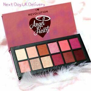 I Heart Revolution 'Angel Heart' Palette Nude Earthy Matte Shimmer Next Day Deli
