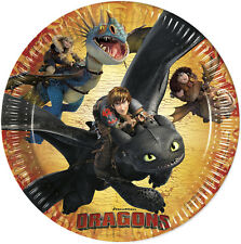 HOW TO TRAIN YOUR DRAGON Birthday Party Range (Tableware & Decorations)