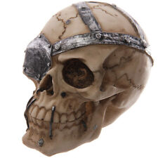 Totenkopf Schädel Totenköpfe Gothic Skull Dekoration Larp 9,5cm Mystik Deko NEU
