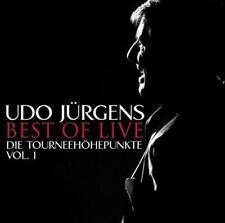 Best Of Live-Die Tourneehöhepunkte-Vol.1 von Udo Jürgens (2013)