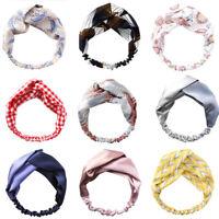 Cross Knot Elastic Bands Women Elegant Soft Headband Hairband Hair Accessoritb