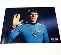 "*LEONARD NIMOY* ""Live Long And Prosper"" MR. SPOCK 8x10 STAR TREK PHOTOGRAPH TOS"