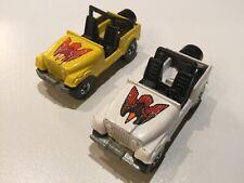 1981 Hotwheels CJ Jeeps lot of 2