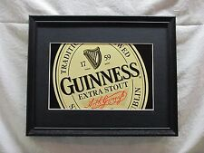 GUINNESS EXTRA STOUT  BEER SIGN  #937
