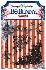 Bo Bunny Clear Stamp 11405858 Anthem Independence Day