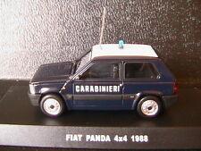 FIAT PANDA 4X4 1988 CARABINIERI DEAGOSTINI 1/43 POLIZIA ITALIA ITALY ITALIE LHD
