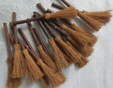 mini brooms, x 10 ~ Wicca ~ small Witches broomsticks  ~ Pagan  * BULK OFFER*