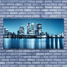 Glasbilder Wandbild Druck auf Glas 140x70 Stadt Gebäude