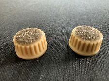 Vintage 1950's Premier Kay Sparkle cupcake knobs Rare must C