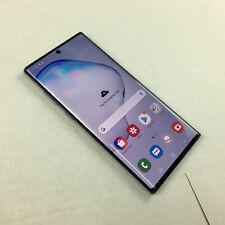 Samsung Galaxy Note10+ 5G SM-N976B 512GB Aura Black Unlocked Single Sim Ref Q761
