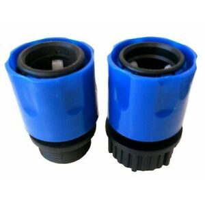 Male Female Garden Expandable Stretch-Hose Adaptor Connector Quick Tap Sprayer