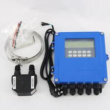 New TDS-100F5-M2 Fixed Wall-mount Ultrasonic Flow Meters  DN50-700mm  Flowmeter