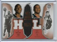 2007-08 UPPER DECK SP ROOKIE DUAL THREADS AL HORFORD AND ACIE LAW