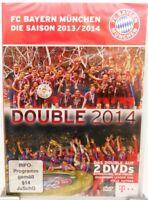 FC Bayern München + 2 DVD Set + Das Double 2014 + Bundesliga + Pokal + Champions