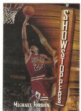 MICHAEL JORDAN 1997-98 TOPPS FINEST SHOWSTOPPERS 271 CHICAGO BULLS LAST DANCE