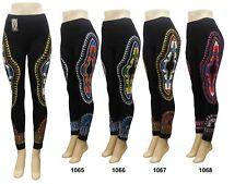 Afrikanische Print Hot Schöne Drucke Frauen Damen Leggings Yoga Hose Free Size
