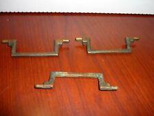 J5 3 Antique Furniture Handle Drawer Pulls Bails Brass