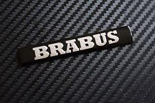 NEW BRABUS WING OR TRIM BADGE C55 C63 CDI E55 E63 S55 SL55 SL65 C32 SMART (10C)