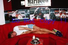 James Hunt F1 Portrait 1981 Photograph