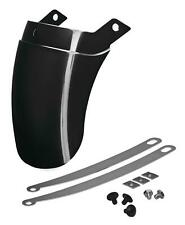 SHOW CHROME TAPERED FRONT FENDER EXTENSION 52-749BK