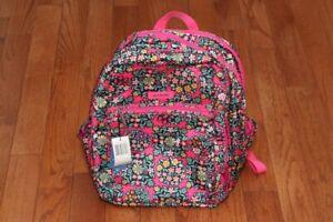 **New** Vera Bradley Lighten Up Grand Backpack Handbag Kaleidoscope Rosettes