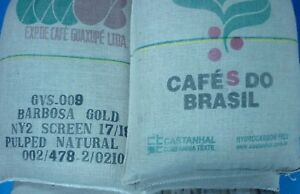 Brazilian Santos Arabica Green Coffee Beans Screen 17/18 size -  Free Delivery