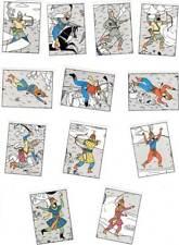 12 Panini TINTIN Tim und Struppi Herge Sticker / Auflkleber Nr.229-240 TOP